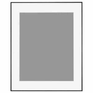 ハクバ HFA-03BWM-Z アルミ額 HFA-03 全紙サイズ ブラック(ホワイトマット)