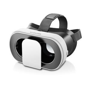 エレコム P-VRGF01WH VRグラス デュアルレンズ 多機能色収差補正 折りたたみタイプ(ホワイト)
