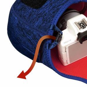 ハクバ 2SP-SF-CC02MBL プラスシェル スリムフィットカメラケース02 M ブルー