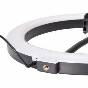 エツミ VE2287 VLOG LEDリングライト 10インチ