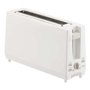 TWINBIRD ポップアップトースター ホワイト TS-D404W