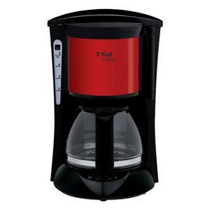 T-FAL コーヒーメーカー スビト メタリックルビーレッド CM151GJP