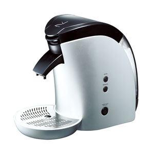 デバイスタイル DCR-60-S 専用カプセル式コーヒーメーカー 「ブルーノパッソ」 シルバー
