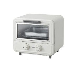 タイガー オーブントースター〈やきたて〉ぷちはこ ホワイト KAO-A850-W