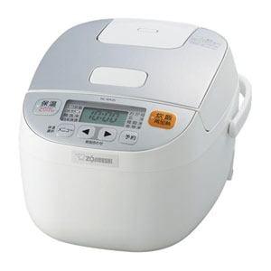 象印 マイコン炊飯ジャー「極め炊き」(3合) ホワイト NL-BA05-WA