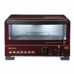 コイズミ KOS-1212/R オーブントースター レッド