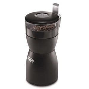 デロンギ カッター式コーヒーグラインダー ブラック KG40J