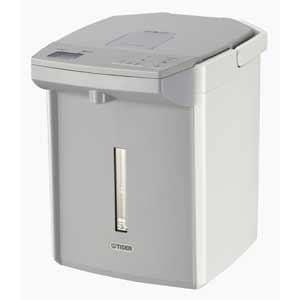 タイガー 電動給湯式電気ポット 「蒸気レスVE電気まほうびん 蒸気レスとく子さん」(2.2L) ホワイト PIJ-A220WW