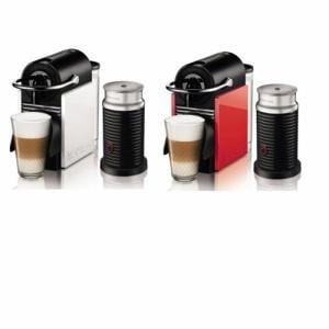 ネスレ コーヒーメーカー 「ピクシークリップ」バンドルセット (ホワイト&コーラルレッド) C60BYA3B