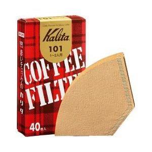 カリタ コーヒーフィルター みさらしタイプ 40枚 (1~2人用) 101濾紙