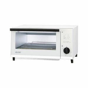 三菱 オーブントースター ワンパワータイプ ホワイト BO-S6-W