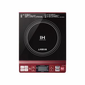 コイズミ IHクッキングヒーター レッド KIH-1402/R
