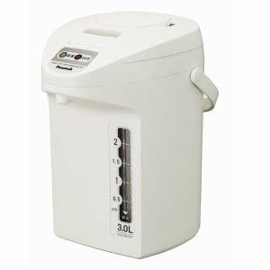 ピーコック 電気保温エアーポット 3.0L ホワイト WTP-30-W