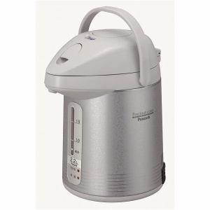 ピーコック 電気保温エアーポット 2.2L サテングレー WXP-22-HS