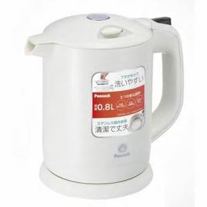 ピーコック 電気ケトル 0.8L ホワイト WDK-08-W