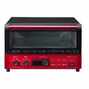 日立 HMO-F100-R コンベクションオーブントースター メタリックレッド