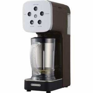 ドウシシャ QCR-85A-BR 「SOLUNA クワトロチョイス」 コーヒーフラッペメーカー ブラウン