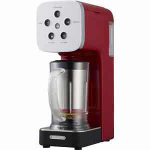 ドウシシャ QCR-85A-RD 「SOLUNA クワトロチョイス」 コーヒーフラッペメーカー レッド