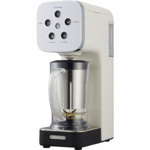 ドウシシャ QCR-85A-WH 「SOLUNA クワトロチョイス」 コーヒーフラッペメーカー ホワイト
