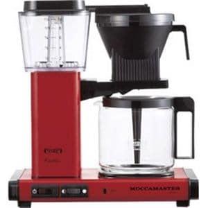 テクニフォルム社 KBGC741AOR モカマスターコーヒーメーカー   レッド