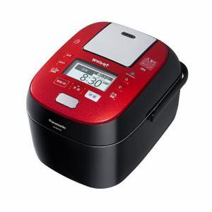 パナソニック SR-SPX107-RK スチーム&可変圧力IHジャー炊飯器(5.5合炊き) ルージュブラック