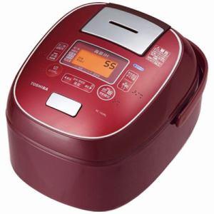 東芝 RC-10VRL-RS IHジャー炊飯器 (5.5合炊き) ディープレッド