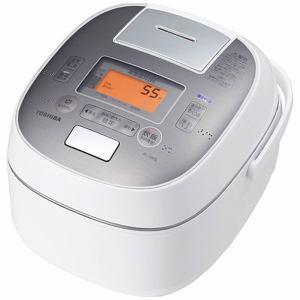 東芝 RC-10VSL-W 可変圧力IHジャー炊飯器 (5.5合炊き) グランホワイト