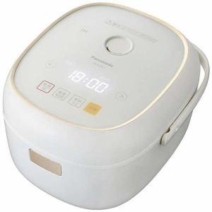 パナソニック SR-KT067-W IHジャー炊飯器(3.5合) ホワイト