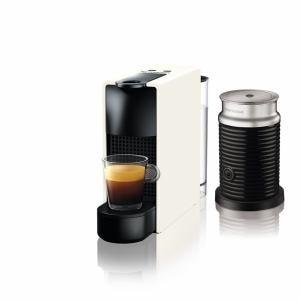 ネスプレッソ C30WH-A3B 専用カプセル式コーヒーメーカー 「エッセンサ・ミニ」  バンドルセット ピュアホワイト