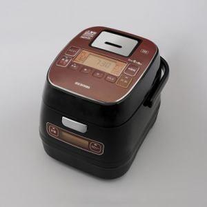 アイリスオーヤマ KRC-ID30-R IHジャー炊飯器3合 銘柄量り炊き