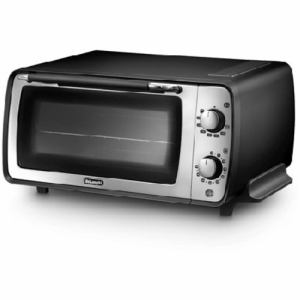 デロンギ EOI407J-BK オーブントースター 「ディスティンタコレクション」(1200W)