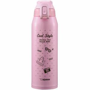 象印 SD-FA10-BP ステンレスクールボトル「TUFF(タフ)」 1.0L ピンクブラック