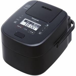 パナソニック SR-VSX188-K 可変圧力スチームIH炊飯ジャー 「Wおどり炊き」(1升) ブラック