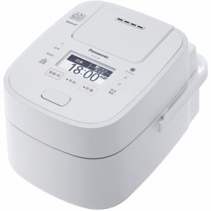 パナソニック SR-VSX188-W 可変圧力スチームIH炊飯ジャー 「Wおどり炊き」(1升) ホワイト