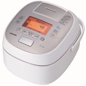 東芝 RC-10VSM-W 真空圧力IH炊飯器 「鍛造かまど銅釜」 5.5合炊き グランホワイト