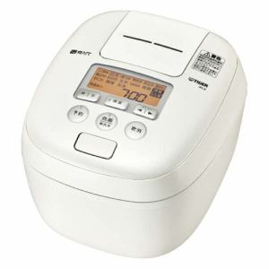 タイガー JPC-B102WM 圧力IH炊飯ジャー 「炊きたて 360°デザイン」 (5.5合炊き) ミルキーホワイト