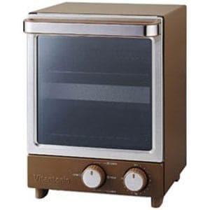 ビタントニオ VOT-20B 縦型オーブントースター ブラウン