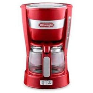 デロンギ ICM14011J-R ドリップコーヒーメーカー(5杯分)レッド