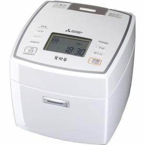 三菱 NJ-VV109-W IHジャー炊飯器(5.5合炊き) 七重全面加熱 ピュアホワイト