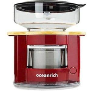 UNIQ UQ-CR8200RD oceanrich自動ドリップ・コーヒーメーカー レッド
