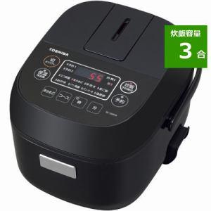 東芝 RC-5MFM(K) マイコン炊飯器 3合炊き ブラック