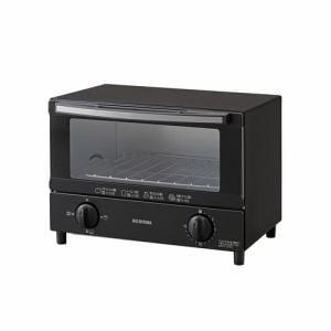 アイリスオーヤマ KOT-012-B オーブントースター  2枚焼き ブラック