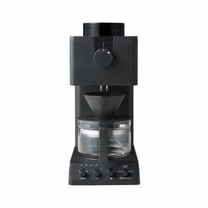 ツインバード工業 CM-D457B 全自動コーヒーメーカー 3杯分 ブラック