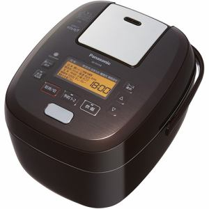 パナソニック SR-PA109-T 可変圧力IHジャー炊飯器 5.5合炊き ブラウン