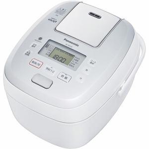 パナソニック SR-PB109-W 可変圧力IHジャー炊飯器 5.5合炊き ホワイト