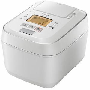 日立 RZ-V100CM W 圧力&スチームIHジャー炊飯器 ふっくら御膳 5.5合炊き パールホワイト