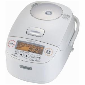 象印 NP-BJ10-WA 圧力IH炊飯ジャー 極め炊き 5.5合炊き ホワイト