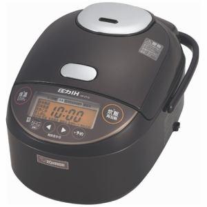 象印 NP-ZT10-TD 圧力IH炊飯ジャー 極め炊き 5.5合炊き ダークブラウン