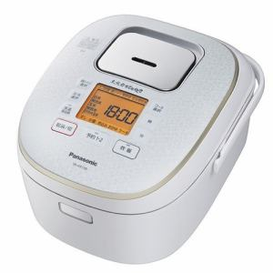 パナソニック SR-HX109-W IH炊飯ジャー 「大火力おどり炊き」 5.5合炊き スノーホワイト