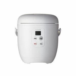 小泉成器 KSC1513 ライスクッカーミニ コイズミ  ホワイト